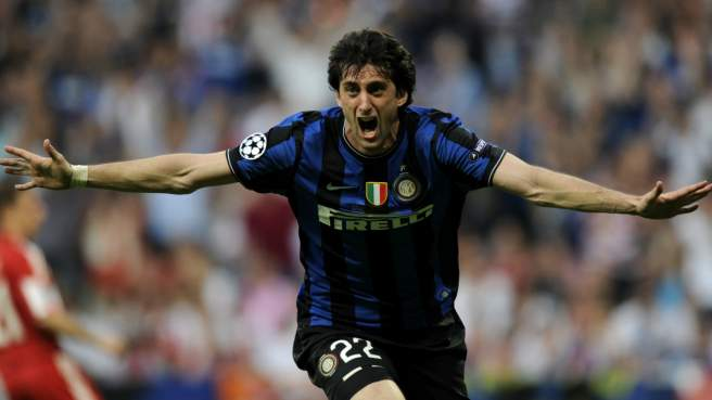 Diego Milito all'Inter